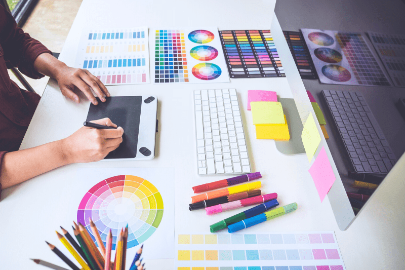 עיצוב גרפי לפרסום עסקים באינטרנט